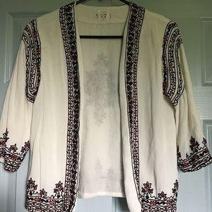 Volcom Embroidered cardigan